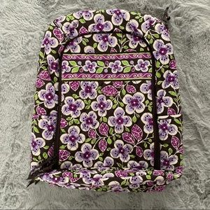 🥳HP🎉 Vera Bradley Large Campus Backpack Purple